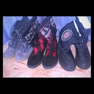 Bundle of Madden Girl Winter Boots 3 pairs!